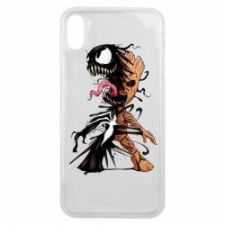 Чохол для iPhone Xs Max Groot and Venom