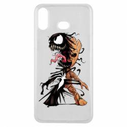 Чохол для Samsung A6s Groot and Venom