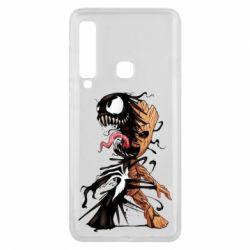 Чохол для Samsung A9 2018 Groot and Venom