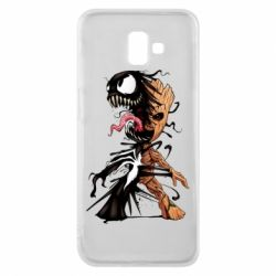 Чохол для Samsung J6 Plus 2018 Groot and Venom