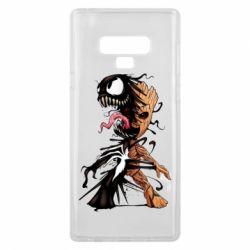 Чохол для Samsung Note 9 Groot and Venom