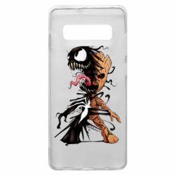 Чохол для Samsung S10+ Groot and Venom