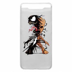 Чохол для Samsung A80 Groot and Venom