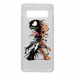 Чохол для Samsung S10 Groot and Venom