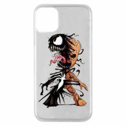 Чохол для iPhone 11 Pro Groot and Venom