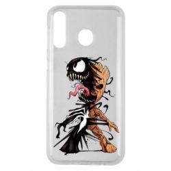 Чохол для Samsung M30 Groot and Venom
