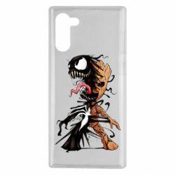 Чохол для Samsung Note 10 Groot and Venom