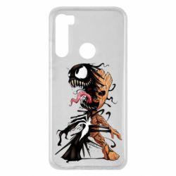 Чохол для Xiaomi Redmi Note 8 Groot and Venom