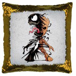 Подушка-хамелеон Groot and Venom