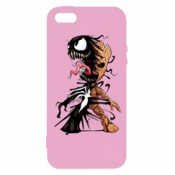 Чохол для iphone 5/5S/SE Groot and Venom