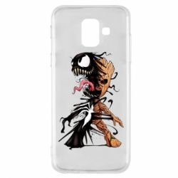 Чохол для Samsung A6 2018 Groot and Venom
