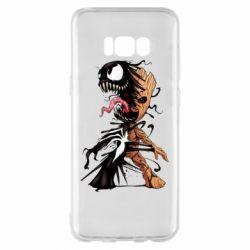 Чохол для Samsung S8+ Groot and Venom