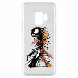 Чохол для Samsung S9 Groot and Venom
