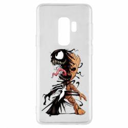 Чохол для Samsung S9+ Groot and Venom