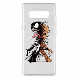 Чохол для Samsung Note 8 Groot and Venom