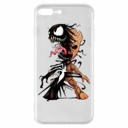 Чохол для iPhone 8 Plus Groot and Venom
