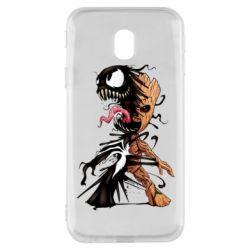 Чохол для Samsung J3 2017 Groot and Venom