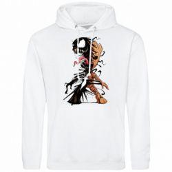 Чоловіча толстовка Groot and Venom