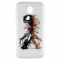 Чохол для Samsung J7 2017 Groot and Venom
