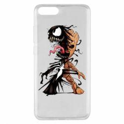 Чохол для Xiaomi Mi Note 3 Groot and Venom