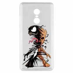 Чохол для Xiaomi Redmi Note 4x Groot and Venom