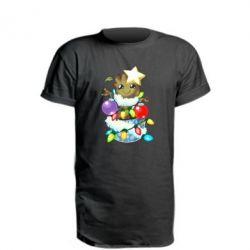 Подовжена футболка Groot in the garland