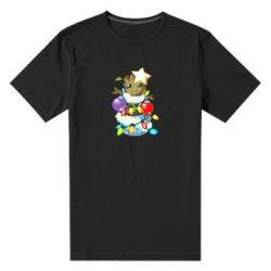 Чоловіча стрейчева футболка Groot in the garland
