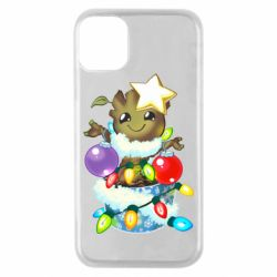 Чохол для iPhone 11 Pro Groot in the garland