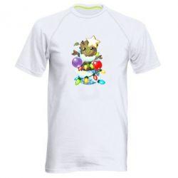 Чоловіча спортивна футболка Groot in the garland