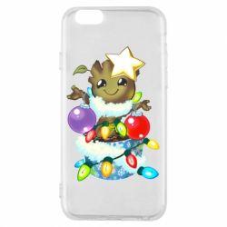 Чохол для iPhone 6/6S Groot in the garland