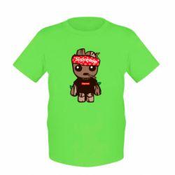 Детская футболка Groot smokes