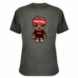 Камуфляжная футболка Groot smokes