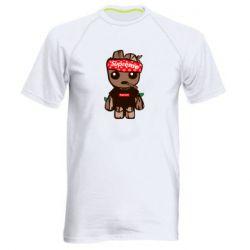 Мужская спортивная футболка Groot smokes