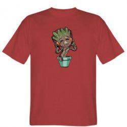 Мужская футболка Groot - FatLine