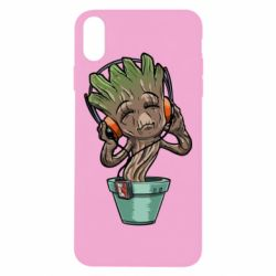 Чехол для iPhone X Groot - FatLine