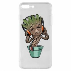 Чехол для iPhone 7 Plus Groot - FatLine