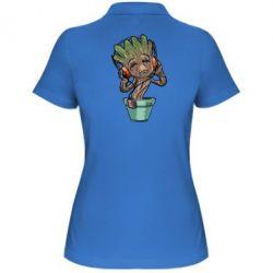 Женская футболка поло Groot - FatLine