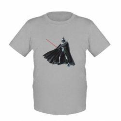 Детская футболка Грозный Дарт Вейдер - FatLine