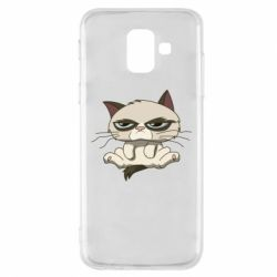 Чохол для Samsung A6 2018 Grumpy Cat Art nope