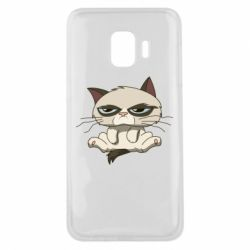 Чохол для Samsung J2 Core Grumpy Cat Art nope