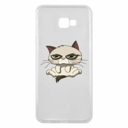 Чохол для Samsung J4 Plus 2018 Grumpy Cat Art nope