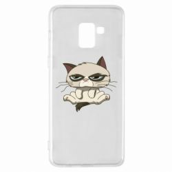 Чохол для Samsung A8+ 2018 Grumpy Cat Art nope