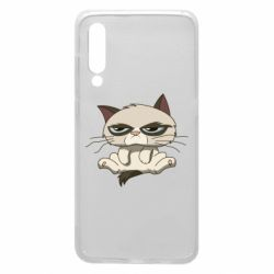 Чохол для Xiaomi Mi9 Grumpy Cat Art nope