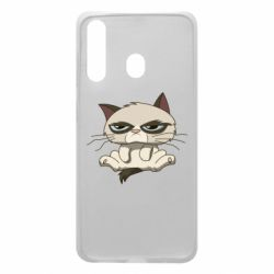 Чохол для Samsung A60 Grumpy Cat Art nope