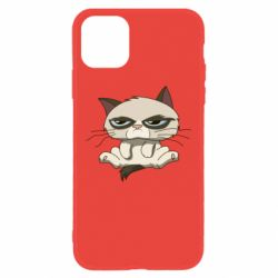 Чохол для iPhone 11 Grumpy Cat Art nope