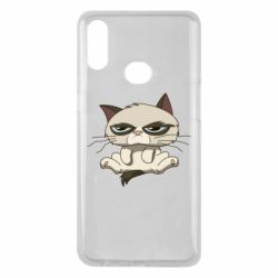Чохол для Samsung A10s Grumpy Cat Art nope
