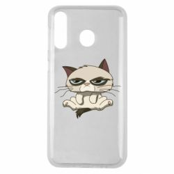 Чохол для Samsung M30 Grumpy Cat Art nope