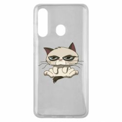 Чохол для Samsung M40 Grumpy Cat Art nope