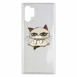 Чохол для Samsung Note 10 Plus Grumpy Cat Art nope