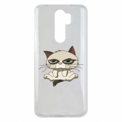 Чохол для Xiaomi Redmi Note 8 Pro Grumpy Cat Art nope